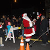 Santa Claus counts down the tree lighting as the City of Newburgh welcomed its Broadway tree during its official dedication and tree lighting ceremony on Wednesday, December 14, 2016. Hudson Valley Press/CHUCK STEWART, JR.
