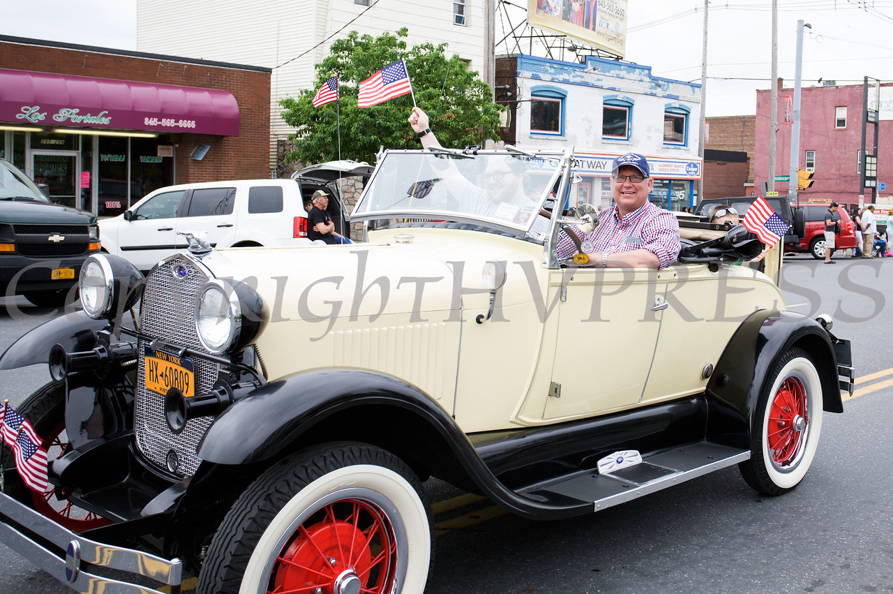 The City of Newburgh hosted a Memorial Day Parade on Monday, May 30, 2016, which proceeded along Broadway to Washington's Headquarters. Hudson Valley Press/CHUCK STEWART, JR.