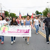 Members of Newburgh Girl Power marched in the City of Newburgh hosted Memorial Day Parade on Monday, May 30, 2016, which proceeded along Broadway to Washington's Headquarters. Hudson Valley Press/CHUCK STEWART, JR.