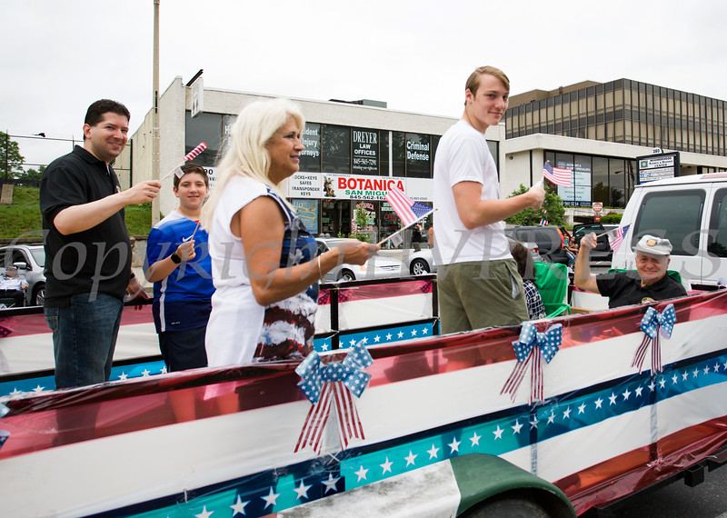 UNICO had a float in the City of Newburgh hosted Memorial Day Parade on Monday, May 30, 2016, which proceeded along Broadway to Washington's Headquarters. Hudson Valley Press/CHUCK STEWART, JR.