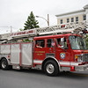 City of Newburgh Fire Trucks participated in the City of Newburgh hosted Memorial Day Parade on Monday, May 30, 2016, which proceeded along Broadway to Washington's Headquarters. Hudson Valley Press/CHUCK STEWART, JR.
