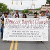 Members of the Ebenezer Baptist Church marched in the City of Newburgh hosted Memorial Day Parade on Monday, May 30, 2016, which proceeded along Broadway to Washington's Headquarters. Hudson Valley Press/CHUCK STEWART, JR.