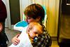 Love snuggling on Nanny's shoulder