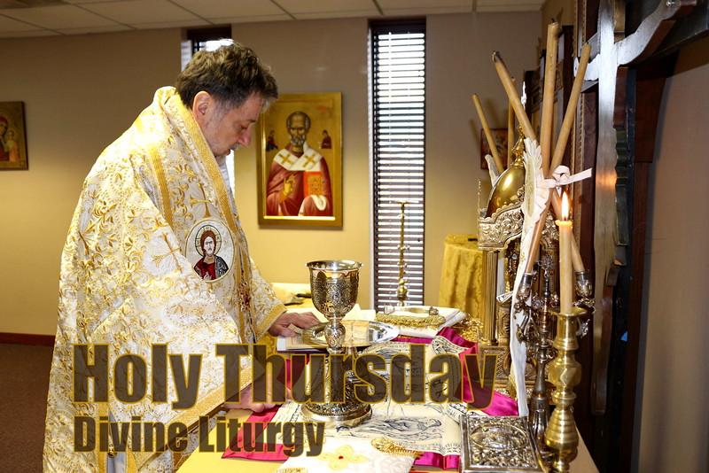 Holy Thursday Divine Liturgy - Metropolis Chapel
