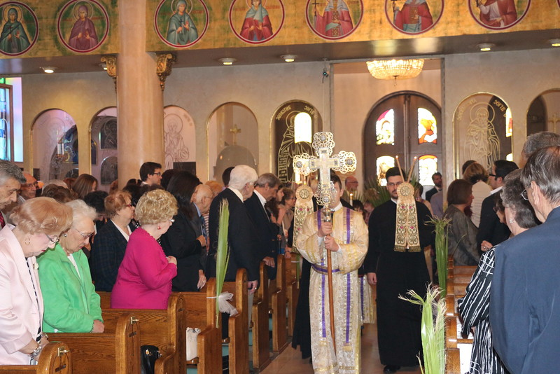 Palm Sunday & Ordination to Diaconate of Scott O'Rourke