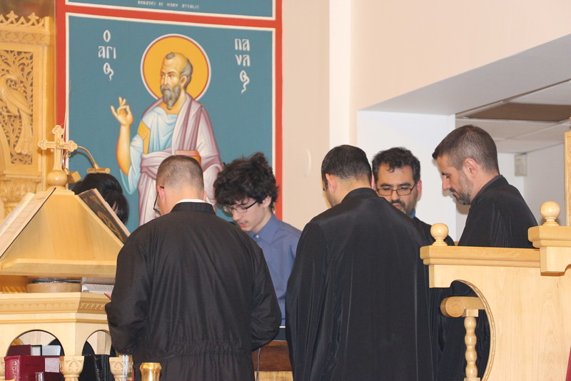 Holy Unction Service - Plymouth