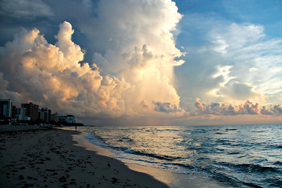 Sunrise over South Beach
