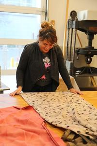 Luisa Fernanda Garcia-Gomez (MFA, Design Studies) with her final project.