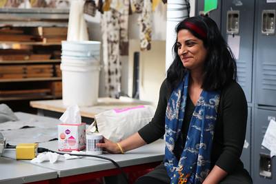 Guest artist, Sarah K Khan
