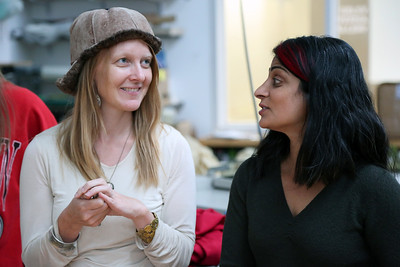 Emily Popp (MFA, Design Studies) and Sarah K Khan
