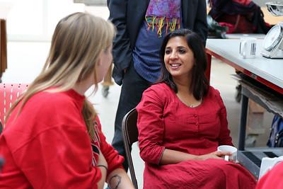 Meeta Mastani speaking with Lucy Hodkiewicz (Art)