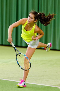 02a. Victoria Kalaitzis - ITF Heiveld junior indoor open 2016