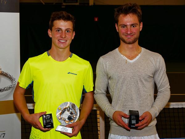 07a. Finalists boys - ITF Heiveld junior indoor open 2016