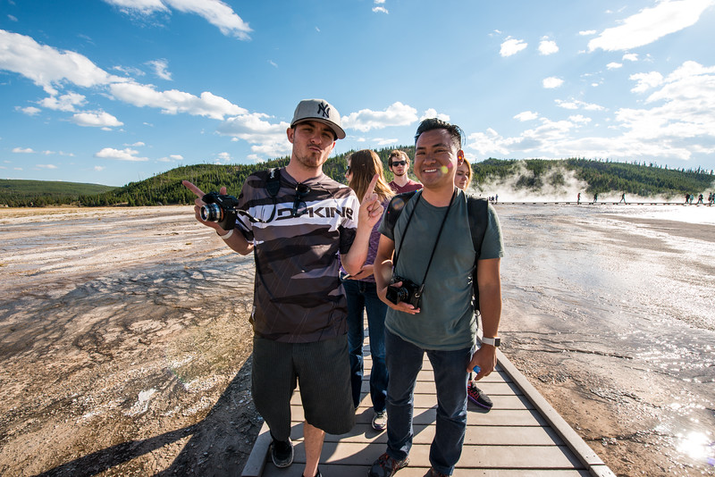 We're at the Grand Prismatic!<br /> <br /> Ran into a bunch of SmugMuggers, including most of the Design Team!