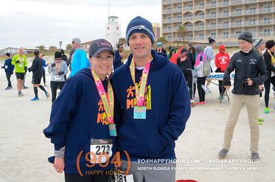 Winter Beach Run @ Jacksonville Beach - 1.23.16