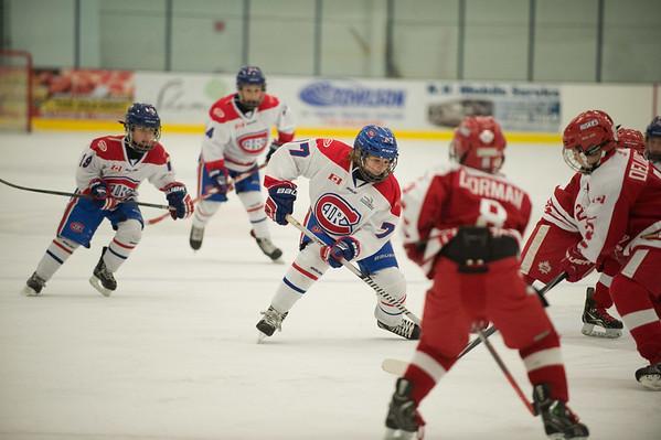 Joed Viera/Staff Photographer-Lockport, NY-Joed Viera/Staff Photographer-Lockport, NY-Teams compete in a hockey tournament at the Cornerstone Arena.