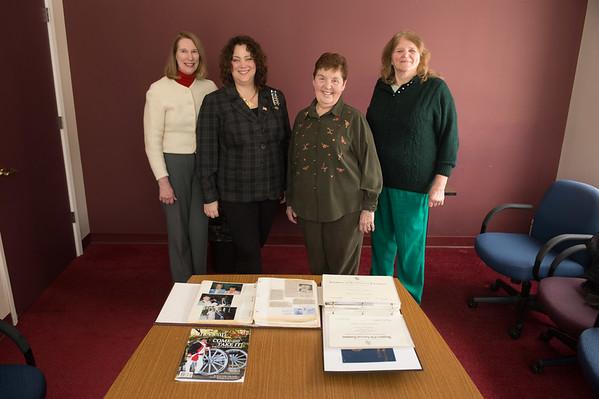 JOED VIERA/STAFF PHOTOGRAPHER Lockport, NY-Suzanne Grafinger, Jan Johnpier, Barbara Diebold and Jean Hayes.