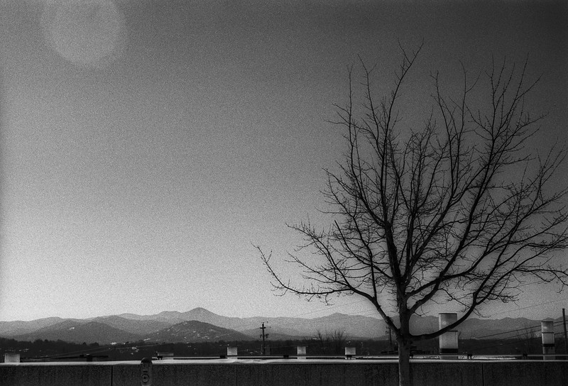 Asheville, NC, January 2016, Tri-X, M2 50DR