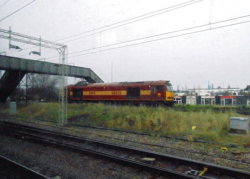 DB Schenker Class 60 no. 60035 at Bescot Yard.