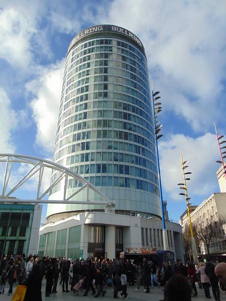 The Rotunda at Birmingham Bullring Centre.