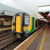 London Midland Class 350 Desiro no. 350123 at Milton Keynes Central on the 09:49 to Northampton.