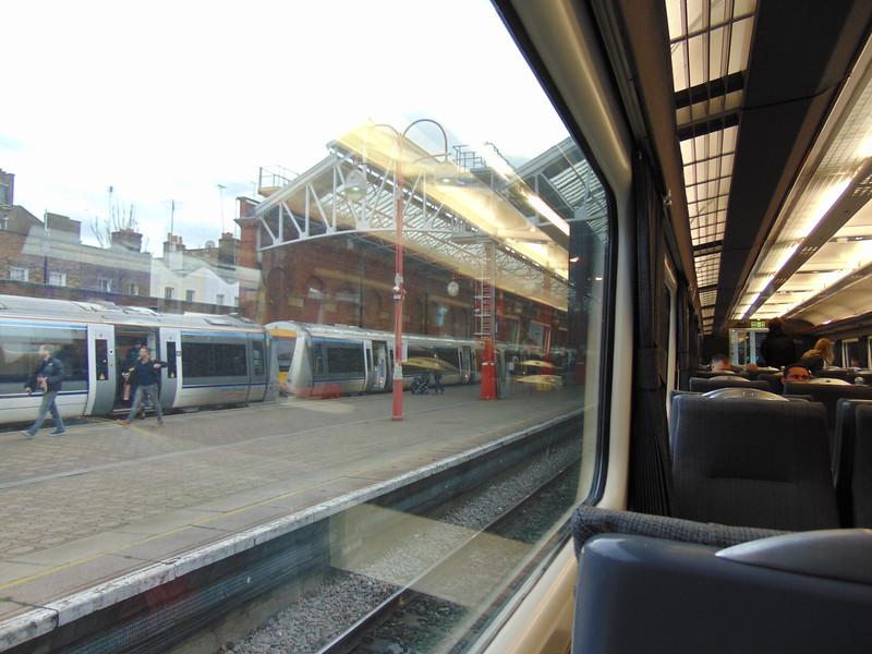 Waiting to leave London Marylebone on the 11:10 to Birmingham.