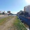 The Rio Guadalmedina in Malaga.