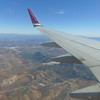 Flying from London Gatwick to Malaga on Norwegian Air Shuttle Boeing 737-800 LN-DYK.