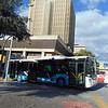 A Malaga Citybus Irisbus bodied Iveco at Centro Alameda.