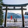 Temple in Kayabuki no Sato in Miyama