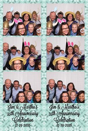 Jim & Martha's 35th Anniversary