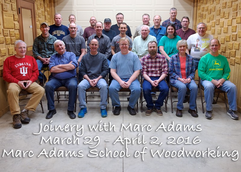Joinery with Marc Adams [Mar.]