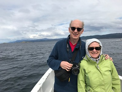 Wilson and Clare in Ushuaia, Argentina - Jennifer Caputo