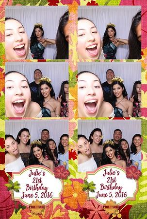 Julia's 21st Birthday