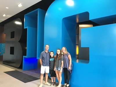July 1-10: Arrive in Chicago, Big Ten Offices