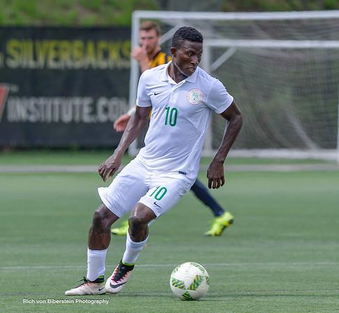 7/17/16 Nigeria National Team versus Charleston Battery