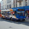 Stagecoach Dennis Dart GX53MWZ 34454 in Bognor Regis on the 600 to Chichester.