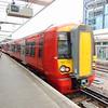 Gatwick Express Class 387 Electrostar no. 387222 passing East Croydon.