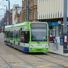 London Tramlink Bombardier Flexity CR4000 tram no. 2532 at East Croydon on the 4 to Elmers End.