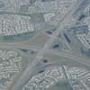 A major interchange on Stony Trail, Calgary.