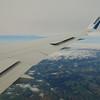 Descending into London Gatwick from Calgary on WestJet Boeing 767-300 C-GOGN.