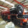 "LMS 4-6-2 Class 8P 'Princess Royal' 4-6-2 No. 46203 ""Princess Margaret Rose"" at Swanwick Junction."