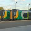 London Midland Class 350 Desiros nos. 350238 and 350109 at Northampton.