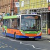 Centrebus Enviro 200 YY64GWF 531 in Nottingham in Five Counties livery on service 19 to Oakham.