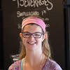 JOED VIERA/STAFF PHOTOGRAPHER- Lockport, NY-Sarah Sharp before ordering during an outing to Scripts Cafe