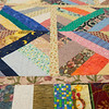 JOED VIERA/STAFF PHOTOGRAPHER- Lockport, NY-A quilt made for the Kenan Quilter Guild at the Kenan Meeting Room. On average it takes 6-8 hours to complete a quilt. The 59 member strong Guild meets up every second Thursday of each month and has been around for the past 30 years.