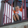 JOED VIERA/STAFF PHOTOGRAPHER- Lockport, NY-Finnigan Emmert, 3, hangs out at the Day Road Park playground.