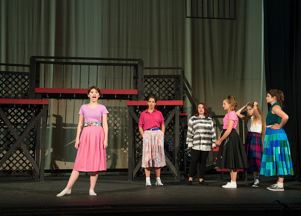 JOED VIERA/STAFF PHOTOGRAPHER-Lockport, NY- The cast of All Shook Up rehearses at the Palace Theatre.