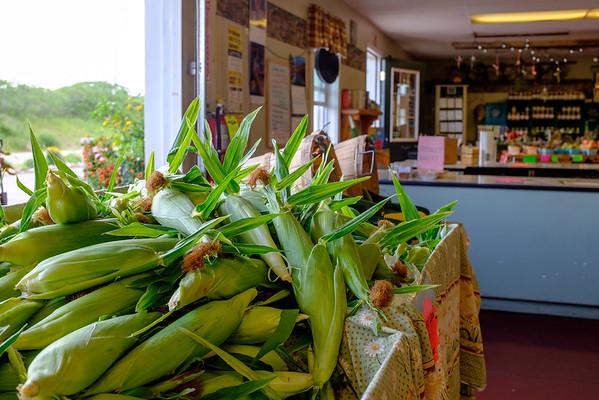 JOED VIERA/STAFF PHOTOGRAPHER-Gasport, NY- Schwab Farm grown corn for sale at Schwab Farm Market.