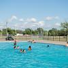 JOED VIERA/STAFF PHOTOGRAPHER- Lockport, NY-People swim at the Lockport Community Pool.